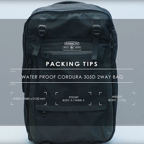 AS2OV PACKING TIPS