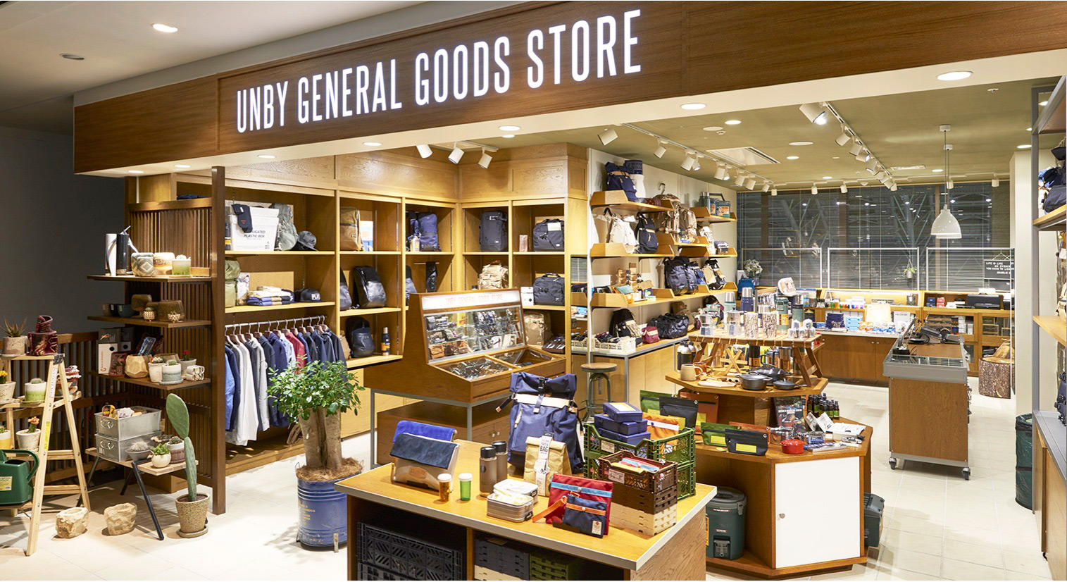 UNBY GENERAL GOODS STORE LUCUA osaka